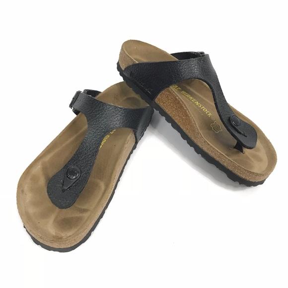 69143426ceab Birkenstock Shoes - Birkenstock Gizeh 240 Flat Thong Slides Sandals